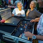 DJ at Garden Party Hockey Championship